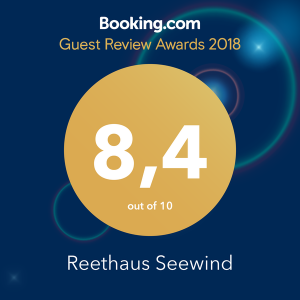 Booking Award Reethaus Seewind